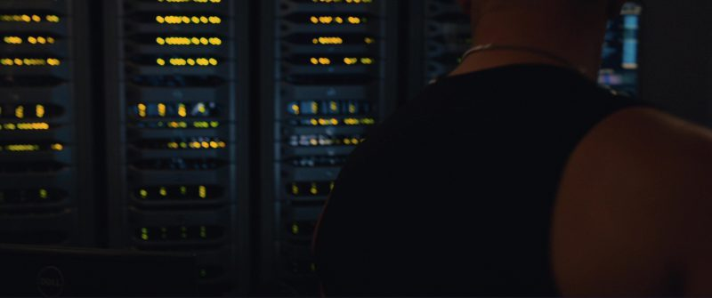 Dell Servers in The Fate of the Furious (2017) - Movie Product Placement