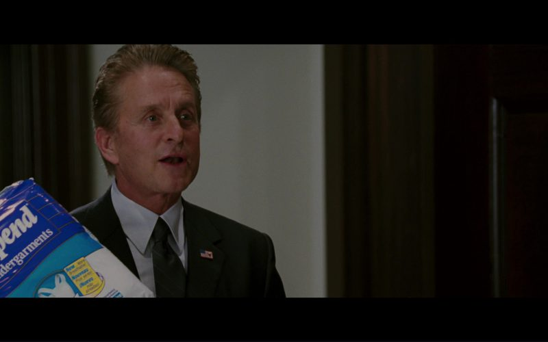 Depend Undergarments and Michael Douglas in The Sentinel (1)