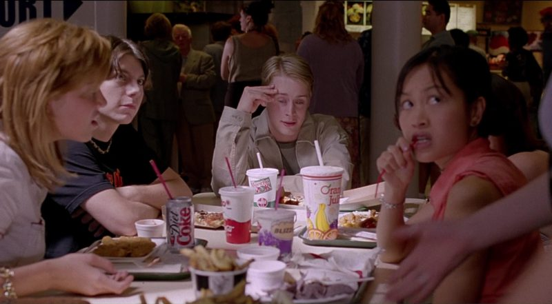 Diet Coke, Coca-Cola, Edo Japan and Manchu Wok in Saved! (2004) - Movie Product Placement