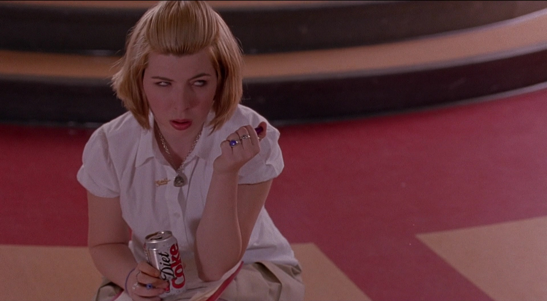 Diet Coke Drink By Heather Matarazzo In Saved 2004 Movie