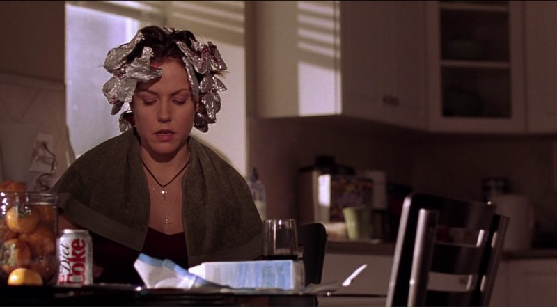 Diet Coke Drink by Mary-Louise Parker in Saved! (2004) Movie Product Placement