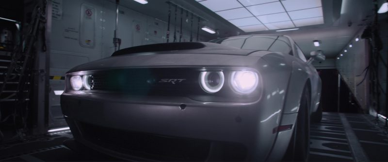 Dodge Challenger Cars in The Fate of the Furious (2017) Movie Product Placement