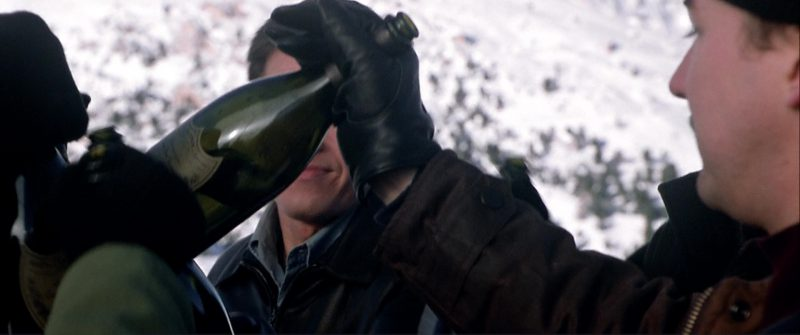 Dom Pérignon Champagne in The Italian Job (2003) - Movie Product Placement