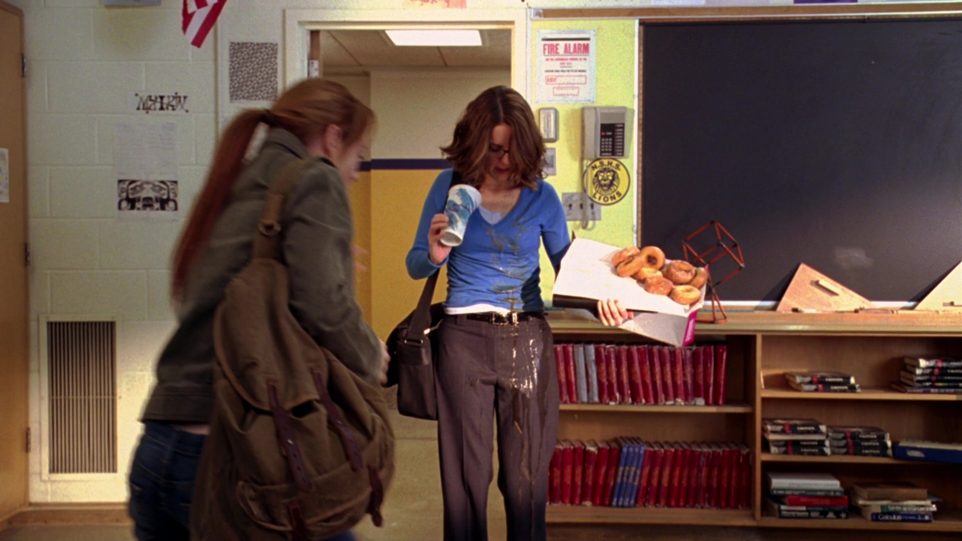 Dunkin Donuts Tina Fey In Mean Girls 2004 Movie