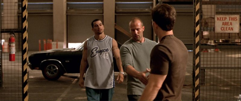 Enyce T-Shirt Worn by Franky G in The Italian Job (2003) Movie Product Placement