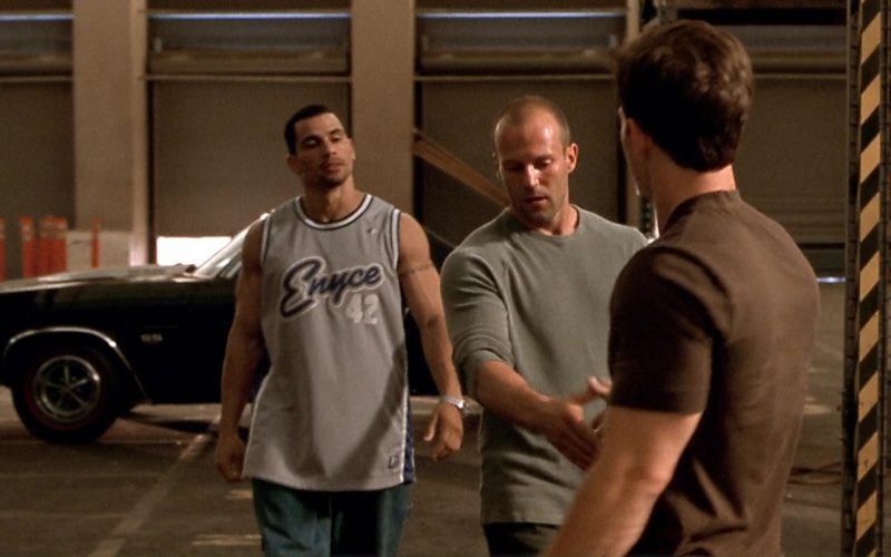 Enyce T-Shirt Worn by Franky G in The Italian Job (1)