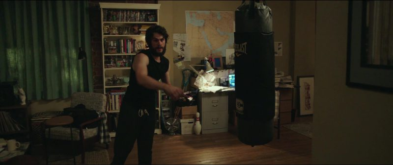 Everlast Punching Bag Used by Dylan O'Brien in American Assassin (2017) Movie Product Placement