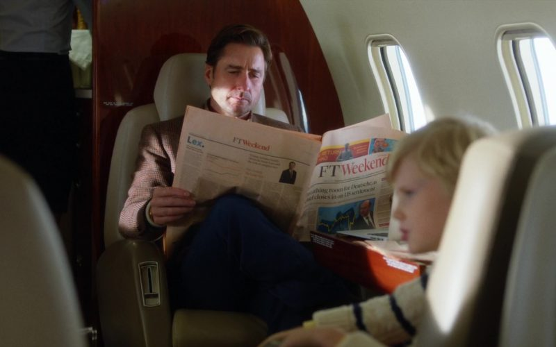 FT Magazine (Financial Times) and Luke Wilson in Brad's Status (1)