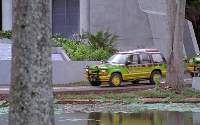 Ford Explorer Cars in Jurassic Park (1)