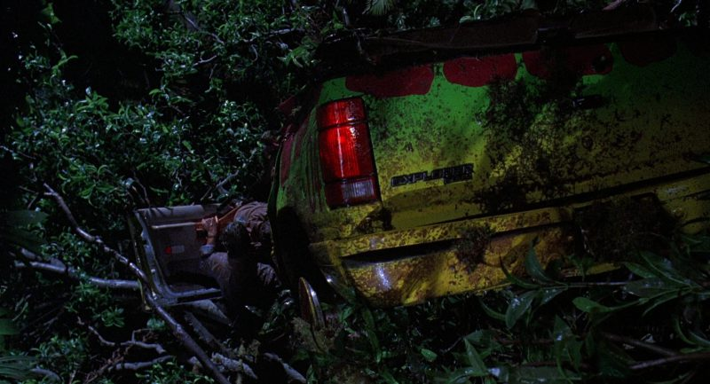 Ford Explorer Cars in Jurassic Park (1993) - Movie Product Placement