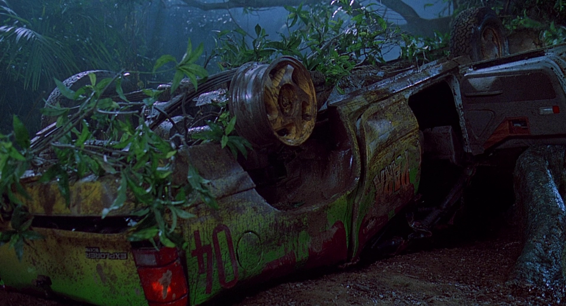 Ford Explorer Cars In Jurassic Park on 1993 Dodge Grand Caravan