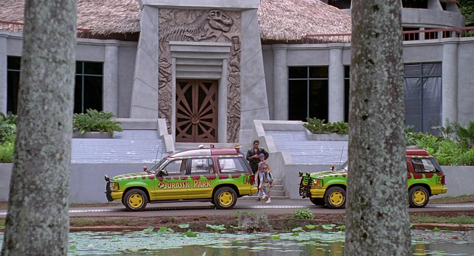 ford explorer cars  jurassic park