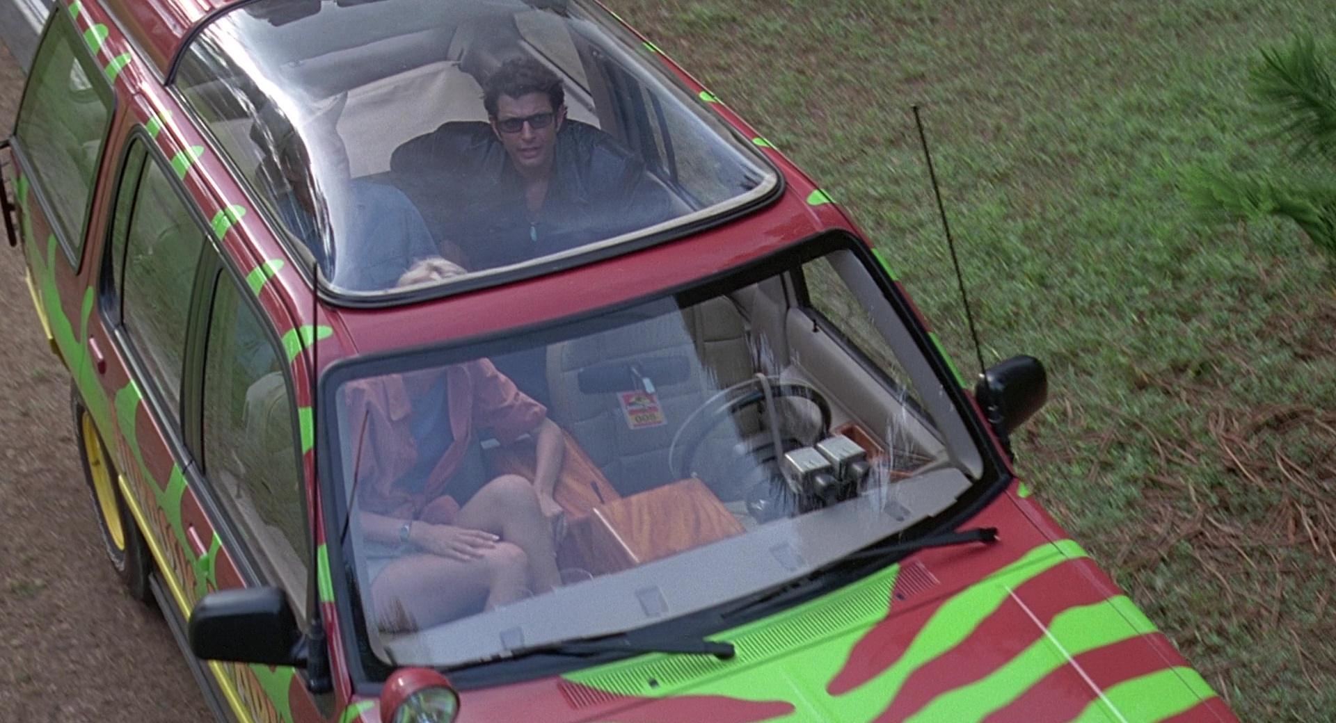 Ford Explorer Cars In Jurassic Park 1993 Movie