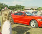 Ford Mustang (Red) Car Used by David Denman in Logan Lucky (1)
