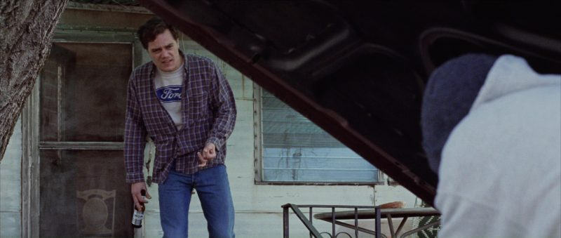Ford T-Shirt Worn by Michael Shannon in 8 Mile (2002) Movie Product Placement