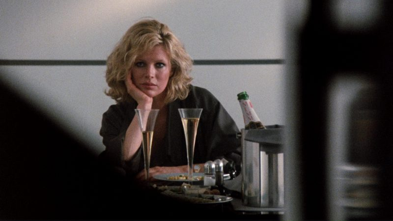 G.H. Mumm et Cie Champagne and Kim Basinger in 9 1/2 Weeks (1986) Movie Product Placement