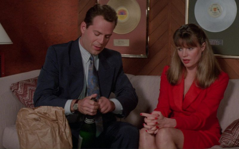 George Goulet Champagne (Bruce Willis and Kim Basinger) in Blind Date (1)
