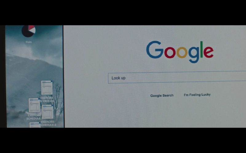 Google WEB Search In I Don't Feel at Home in This World Anymore. (2017) Movie Product Placement