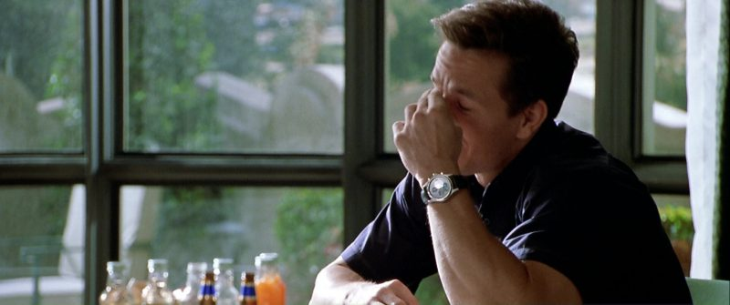 Hamilton Khaki Field Watch Worn by Mark Wahlberg in The Italian Job (2003) - Movie Product Placement