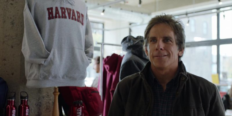 Harvard Clothing And Accessories (Ben Stiller) in Brad's Status (2017) Movie Product Placement