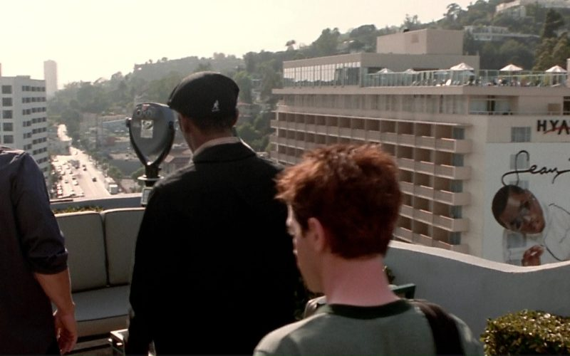 Hyatt, Sean John and Kangol Beret Hat Worn by Mos Def in The Italian Job