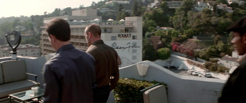 Hyatt and Sean John in The Italian Job (2003) Movie Product Placement