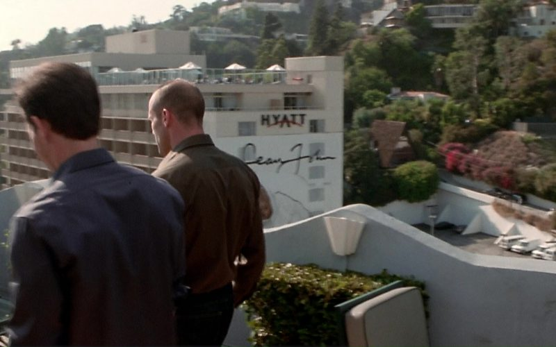 Hyatt and Sean John in The Italian Job (1)