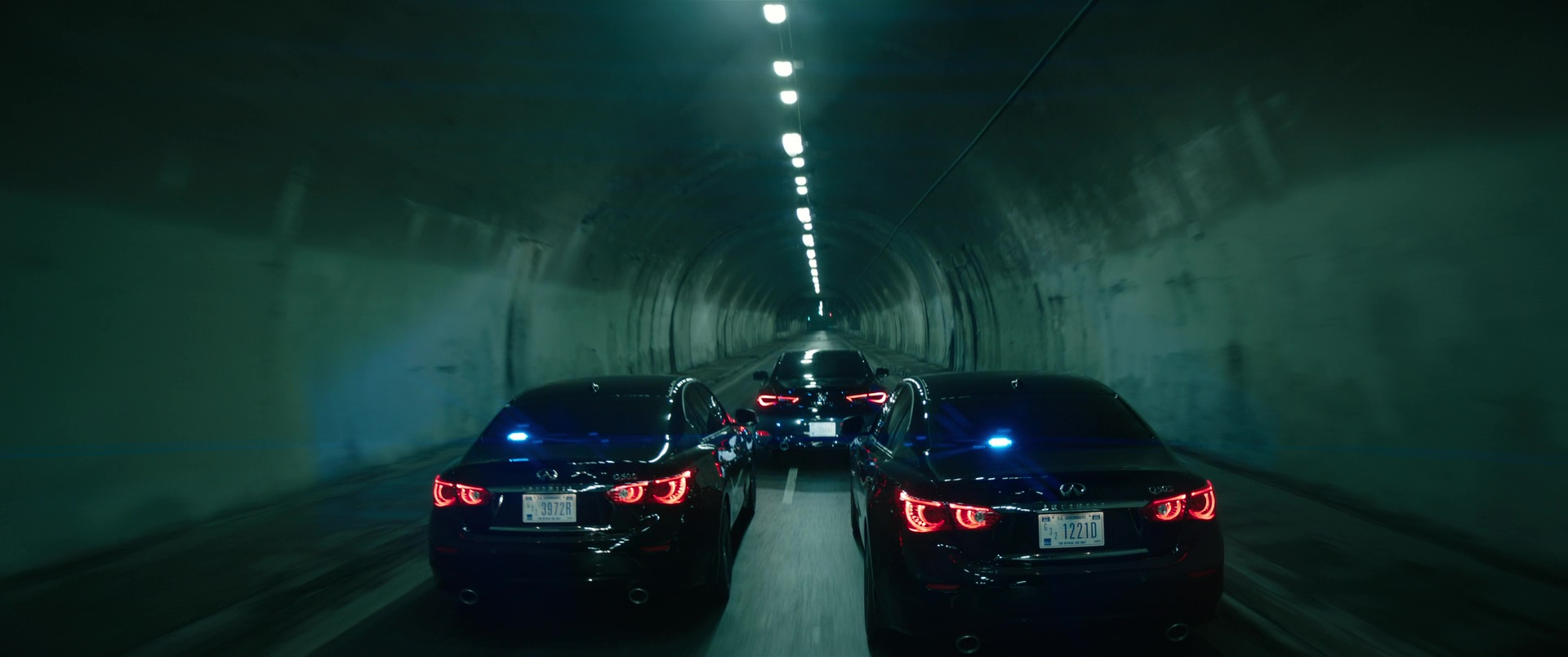 Infiniti Q50s And Q60 Cars In Bright 2017 Movie Scenes