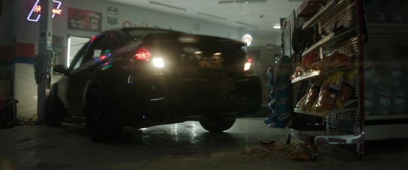 Infiniti Q50s and Q60 Cars in Bright (2017) - Movie Product Placement
