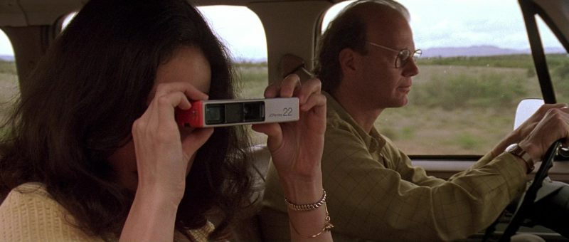 J. C. Penney Photo Camera Used by Jennifer Tilly in The Getaway (1994) - Movie Product Placement