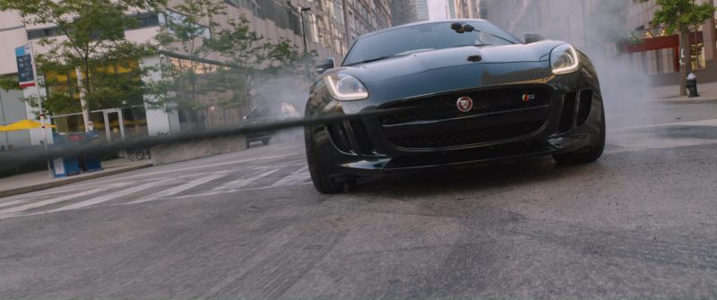 Jaguar F-Type Coupé Sports Car in The Fate of the Furious (2017) - Movie Product Placement
