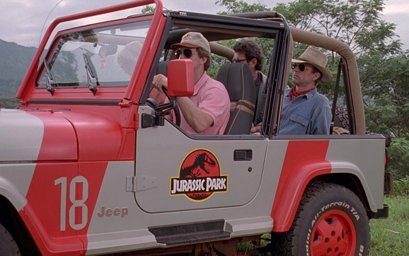 Jeep Wrangler Cars in Jurassic Park (15)