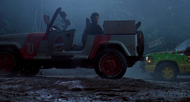 Jeep Used Cars >> Jeep Wrangler Cars in Jurassic Park (1993) Movie