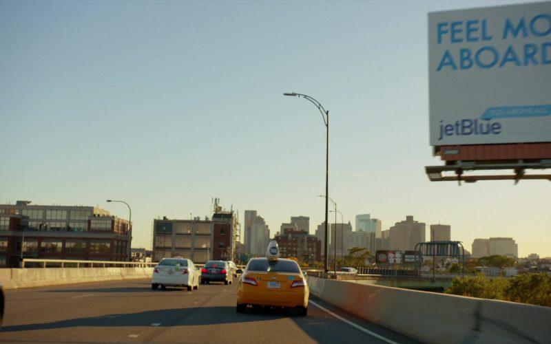JetBlue Airlines Billboard in Brad's Status