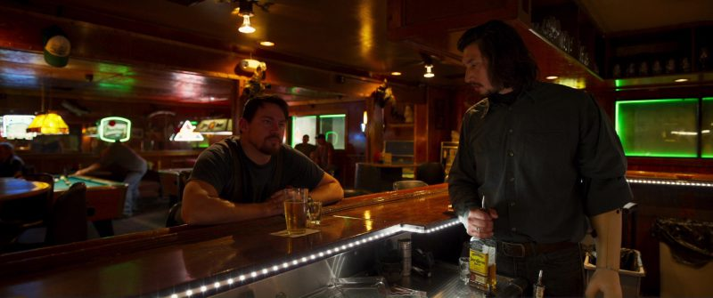 Jose Cuervo Tequila Bottle in Logan Lucky (2017) - Movie Product Placement