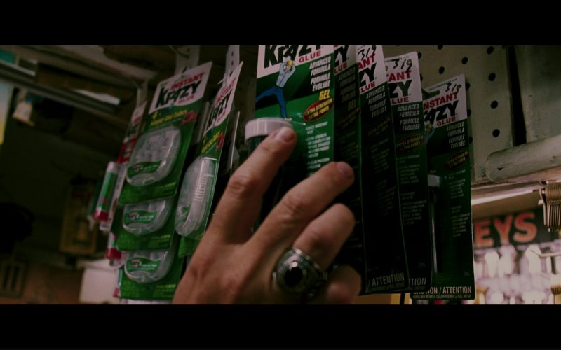 Krazy Instant Glue Used by Michael Douglas in The Sentinel