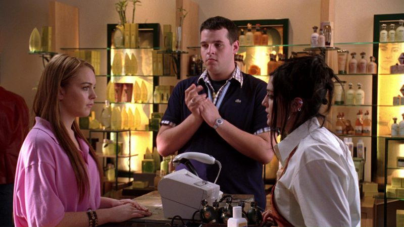 Lacoste Blue Polo Shirt Worn by Daniel Franzese in Mean Girls (2004) - Movie Product Placement