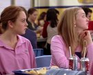 Lacoste Pink Polo Shirt and Diet Coke in Mean Girls (2004)