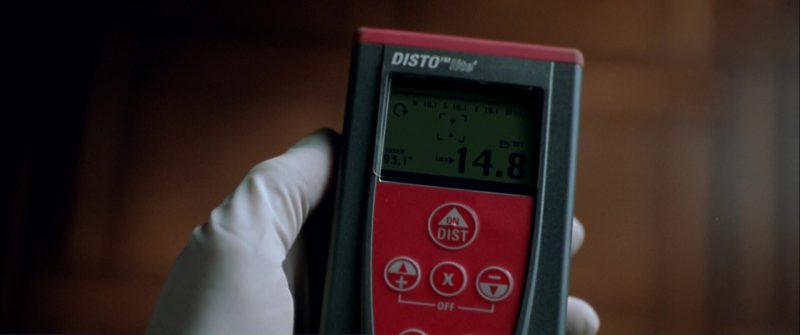 Leica DISTO Laser Distance Meters by Leica Geosystems in The Italian Job (2003) Movie Product Placement