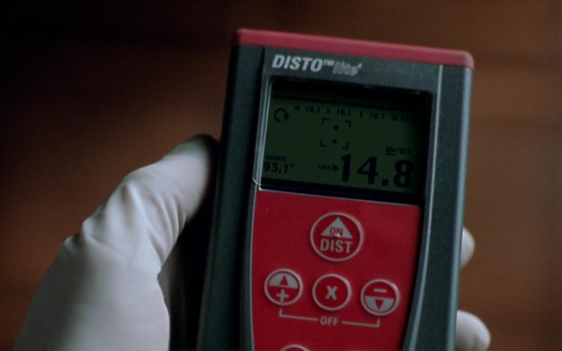 Leica DISTO Laser Distance Meters by Leica Geosystems in The Italian Job