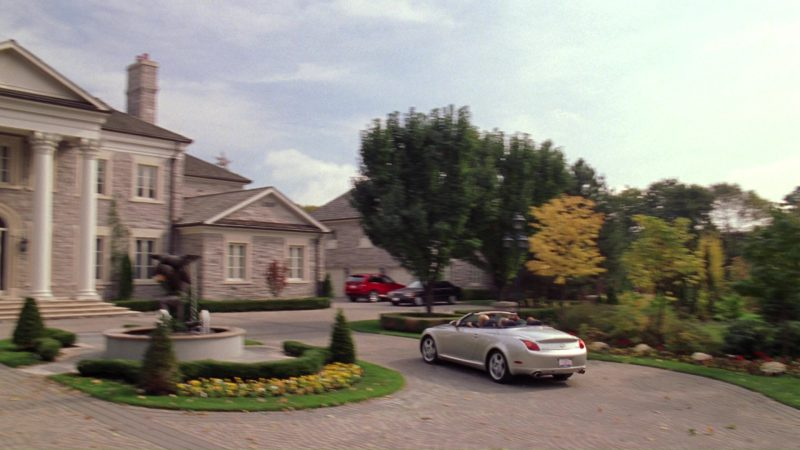Lexus SC 430 Car Used by Rachel McAdams in Mean Girls (2004) - Movie Product Placement