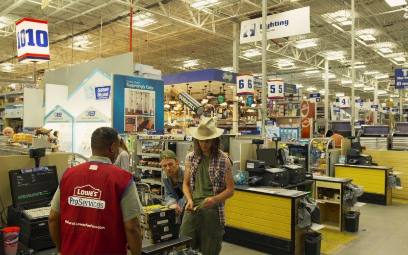 Lowe's Store in Logan Lucky (1)
