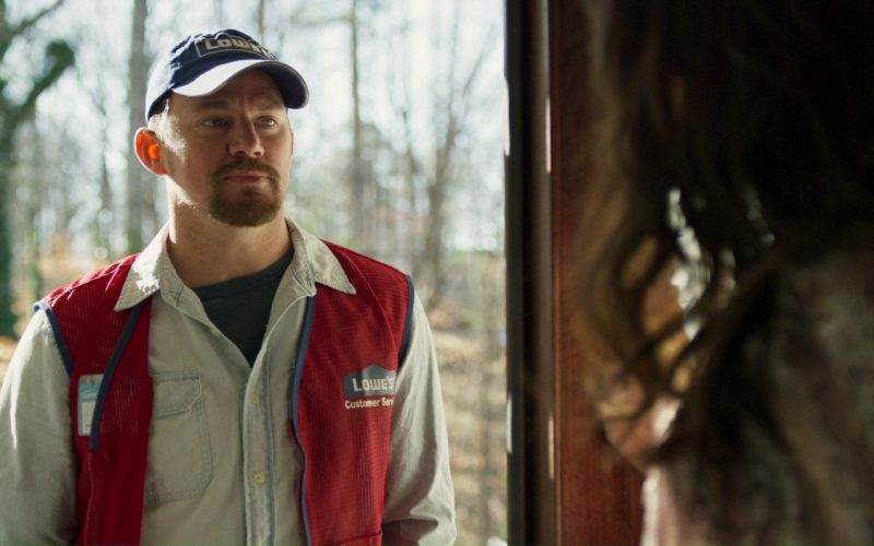 Lowe's Work Clothing and Cap Worn by Channing Tatum in Logan Lucky (4)