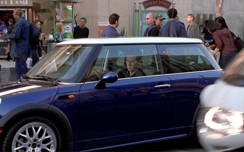 MINI Cooper S Blue Car Used by Mark Wahlberg in The Italian Job (1)