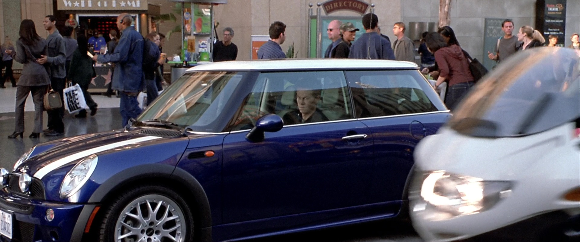 Mini Cooper S Blue Car Used By Mark Wahlberg In The Italian Job