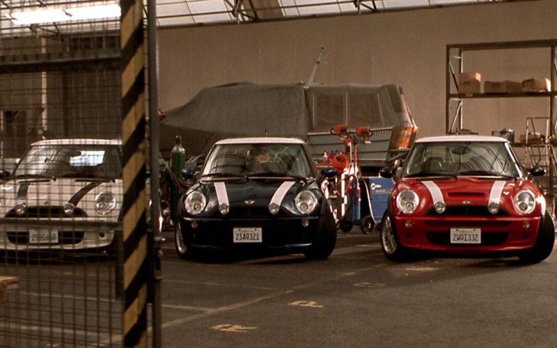 MINI Cooper S Cars in The Italian Job (1)