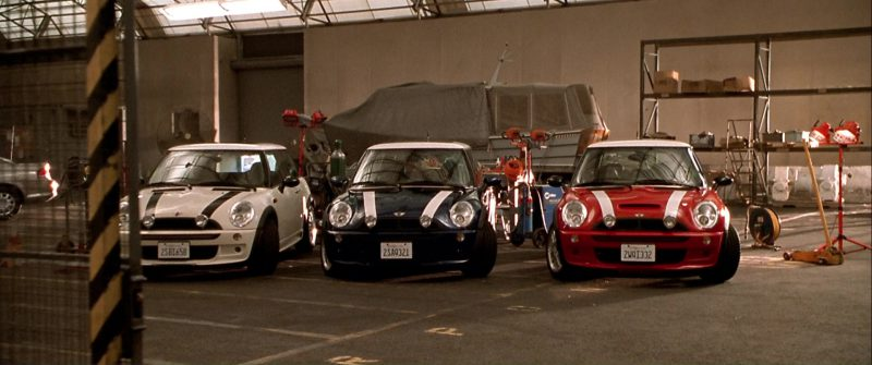 2019 Mini Cooper >> MINI Cooper S Cars in The Italian Job (2003) Movie