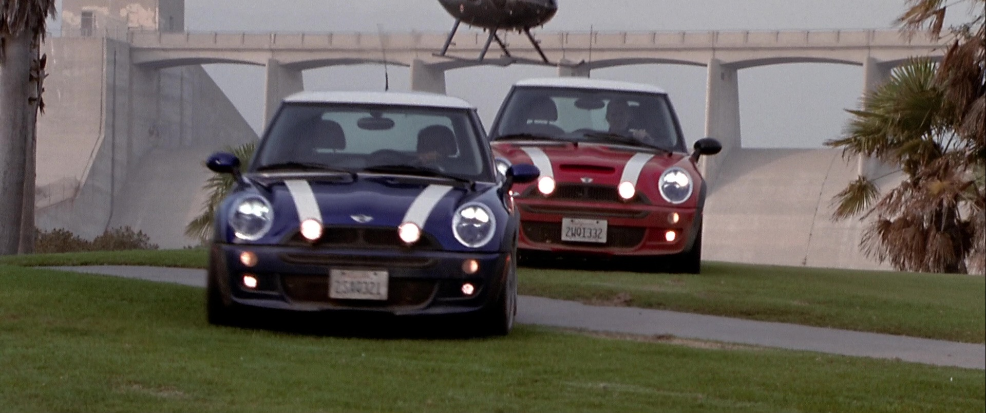 Mini Cooper S Cars In The Italian Job
