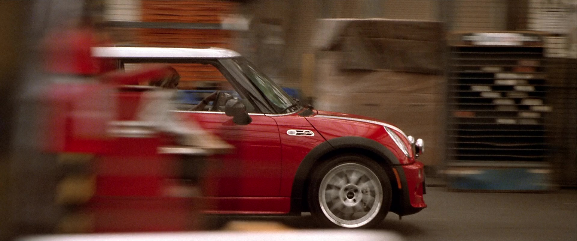 Mini Cooper S Red Car Used By Charlize Theron In The