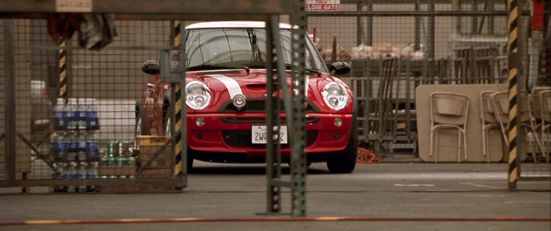 MINI Cooper S Red Car Used by Charlize Theron in The Italian Job (2003) - Movie Product Placement